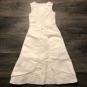 St. Tropez Flower Girl/Communion Dress Sz 5